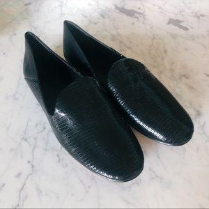 Vince black loafer